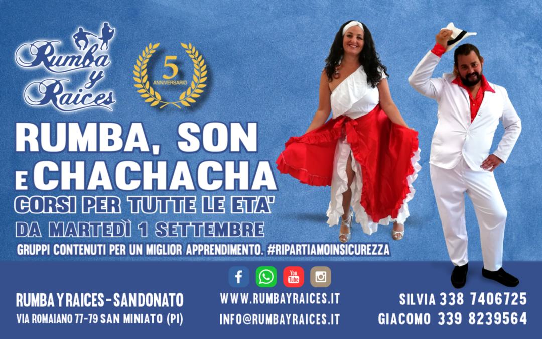 Corsi Rumba, Son y Cha Cha Cha 2020-21